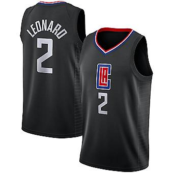 Los Angeles Clippers Kawhi Leonard Loose Basketbal Jersey Sportshirts 3QY026