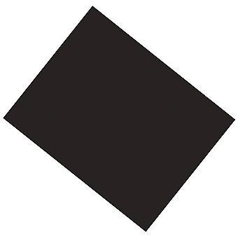"Cartel recubierto de Ucreate, Negro, 22"" X 28"", 25 Hojas"