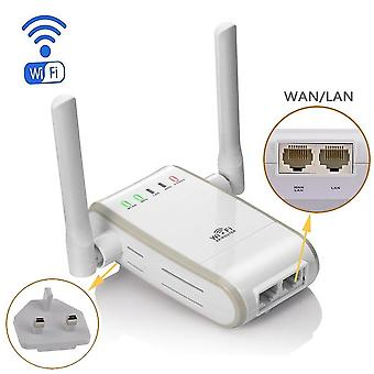 Dhmxdc Wireless-n 300mbps Wifi Range Extender Router/Repeater/ap/wps mini dual externe Antennen wif