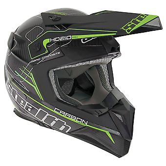 Stealth HD210  Adult MX Helmet - Green
