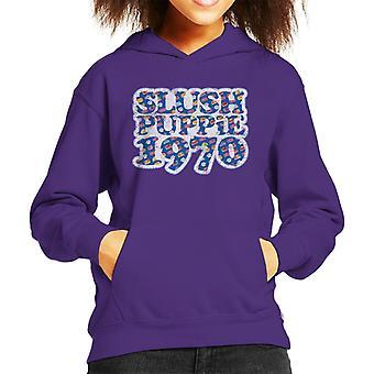 Slush Puppie Retro 1970 Kid's Hooded Sweatshirt