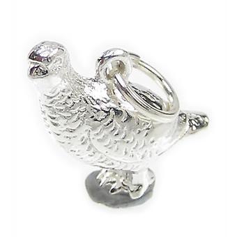 Kuropatwa Sterling Srebrny Urok .925 X 1 Partidges Partrige Bird Charms - 7597