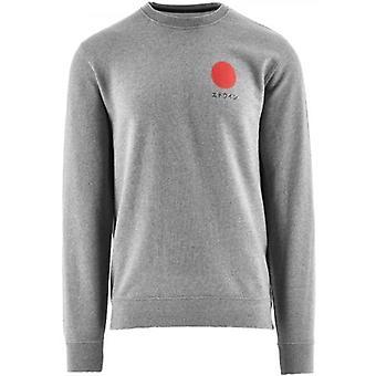 Edwin Grey Japanese Sun Sweatshirt