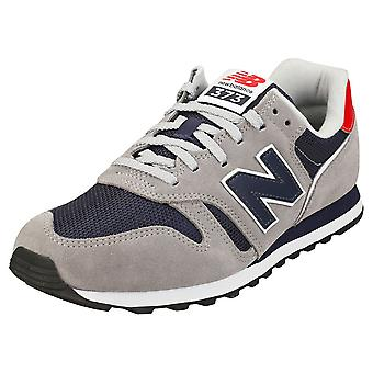New Balance 373-standard Width- Mens Casual Trainers in Grey Navy