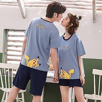 2pcs Lovers Pajamas Set