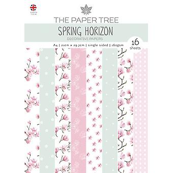 The Paper Tree - Spring Horizon Collection - A4 - Backing Papers