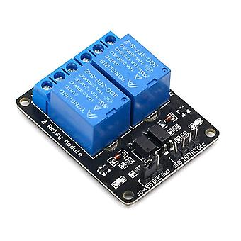 Channel Relay Module, Triggered 2-way With Optocoupler Expansion For Arduino