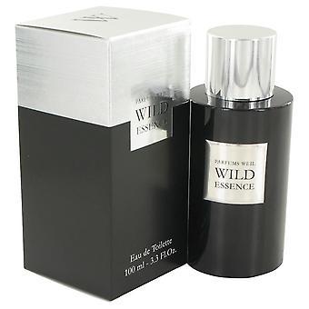 Wild Essence Eau De Toilette Spray By Weil 3.3 oz Eau De Toilette Spray
