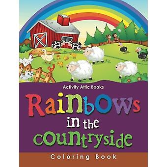 Rainbows in the Countryside Coloring Book by Activity Attic Books - 9