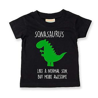 Poika Dinosaur Tshirt