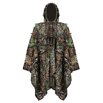 Chasse Secretive Woodland Ghillie Suit Aerial Shooting Sniper Green Clothes Adults Camouflage Military Jungle Multicam Clothing