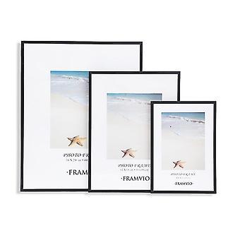 Modern Photo Frame, Picture Frames, Mat Metal Poster, Plexiglass, Canvas