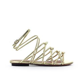 L'autre Chose Platinum Sandal