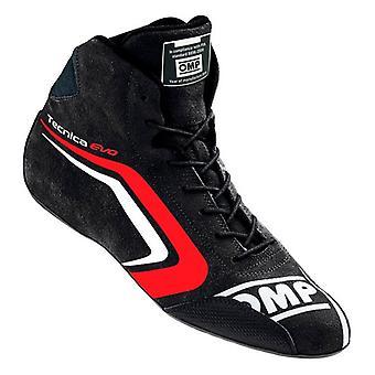 Bottes de course OMP TECNICA EVO Noir/Rouge