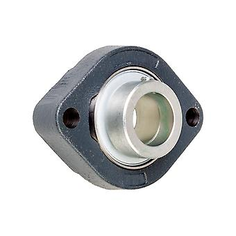 INA GLCTE30XL Two-Bolt Oval Flange 30mm Bore