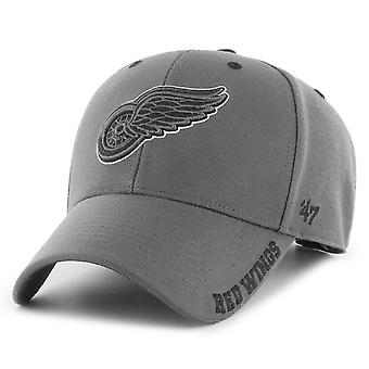 47 Brand Adjustable Cap - DEFROST Detroit Red Wings charcoal