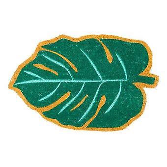 matte leaves 40 x 70 cm coconut fibre/PVC green
