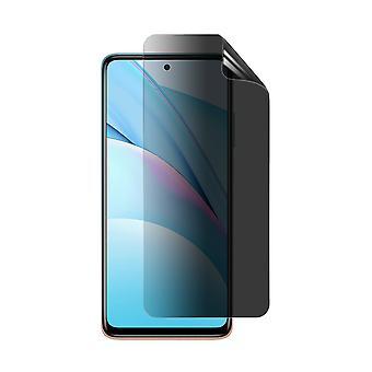 Celicious Privacy Plus 4-Way Anti-Spy Filter Screen Protector Film Compatible with Xiaomi Mi 10T Lite