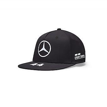 Mercedes AMG Petronas Mercedes Amg Petronas Motorsport F1™ Lewis Hamilton Flatbrim Kuljettaja Cap Black