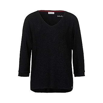Calle Uno 315535 Camiseta, Negro, 42 Mujer