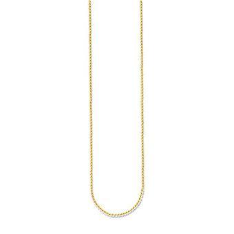 توماس سابو KE1106-413-12 - قلادة للسيدات في الفضة 925 جزئيا الذهب والفضة، واللون: الذهب، كود. 4051245071986