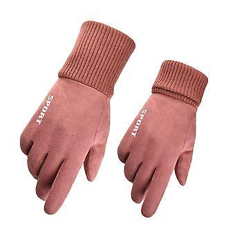 Herren Damen Winter Windproof Anti-Rutsch-Handschuhe