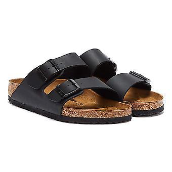 Birkenstock Arizona Birko-Flor Mens Black Sandals
