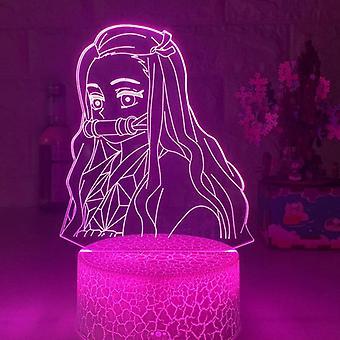 Kimetsu No Yaiba Nezuko Kamado Figure Led Night Light