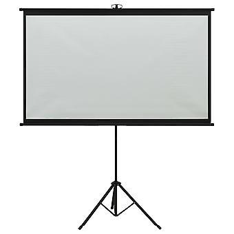 """vidaXL beamer scherm met statief 50"""" 4:3"""