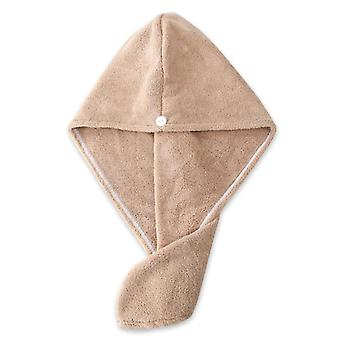 Microfiber Towel , Super Absorption Turban Hair Dry Cap