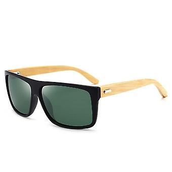 Bambus Ben Glasse Ny Stil Retro Utendørs Mote Solbriller Trendy
