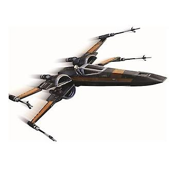 Star Wars The Force väcker Poes X-Wing Fighter Starship Hot Wheels Elite