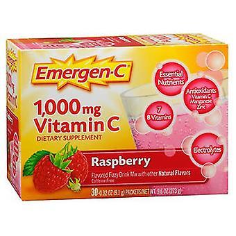 Emergen-C Emergen-C Vitamin C Drink Mix Packets, Raspberry 30 pkts