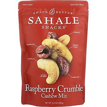 Sahale Snacks Nut Mix Rspbry Crmb Cashe, Case of 4 X 8 Oz