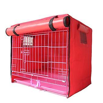Canil de cachorro de estimação anti-mosquito insetos voadores rede tenda cobertura interior/exterior