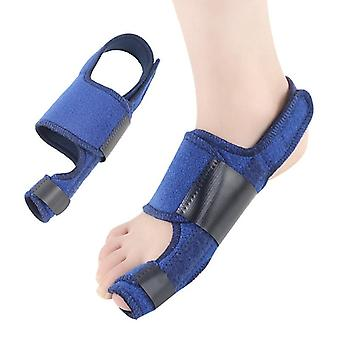Bunion Corrector Velcro Toe Strap Hallux Valgus Orthosis Fixation  Day And Night|Foot Care Tool