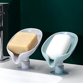 Hoja forma jabón drenar caja