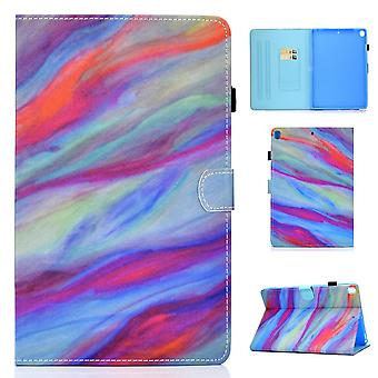 Case For Ipad 9 10.2 2021 Cover With Auto Sleep/wake Pattern Magnetic - Multicolor