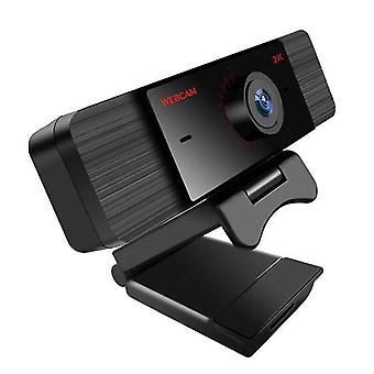 كامل HD 2K Usb كاميرا الكمبيوتر USB مع ميكروفون لكاميرا ويب الكمبيوتر| كاميرات الويب (2K )