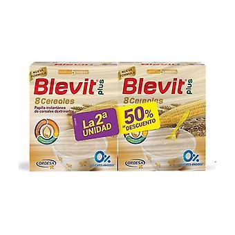Blevit plus 8 cereals 2nd unit at 50% 2 units of 600g