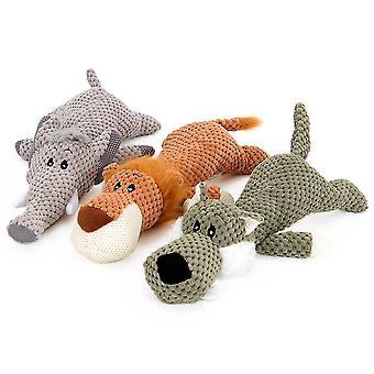 Pet hvalpe bid-resistente hund plys produkter (Elephant)