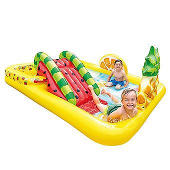 Kinder Aufblasbares Schwimmbad Baby Aquapark Pool Kinder Aufblasbare Badewanne Großes Babypaddeln