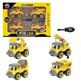 Children's afneembare bouwvoertuig speelgoed
