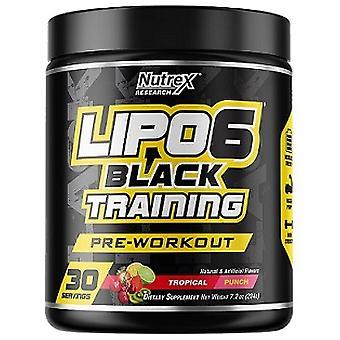 Lipo-6 Black Training, Tropical Punch (EAN 853237000141) - 189 grams