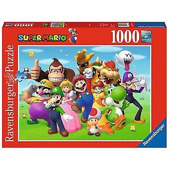 Super Mario, Puzzle - Image de groupe - 1000 pièces