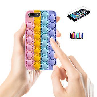 Iphone 7 Plus / 8 Plus - Shell / Bescherming / Pop It Fidget