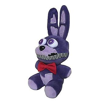 Video game consoles purple bonnie five nights at freddy's plush doll stuffed toy