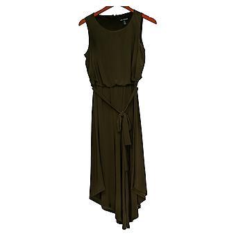 Nina Leonard Jumpsuits Jersey Culotte One-Piece Green 691479