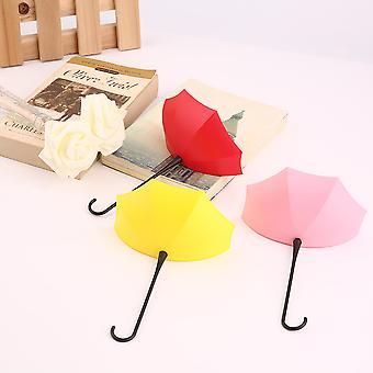 fargerik paraply veggkrok