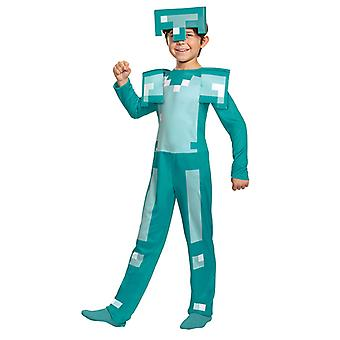 Minecraft Costume, Children's Magic Diamond Armor Set, Minecraft Halloween Costume
